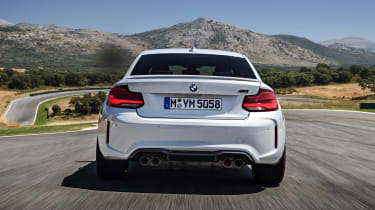 BMW M2 Competition - full rear
