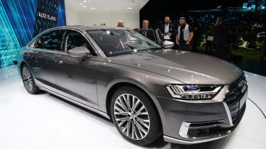Audi A8 - Frankfurt side/front