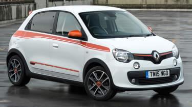 Triple test –Renault Twingo - front
