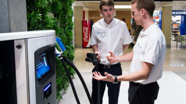 Electric Vehicle Experience Centre - charging help