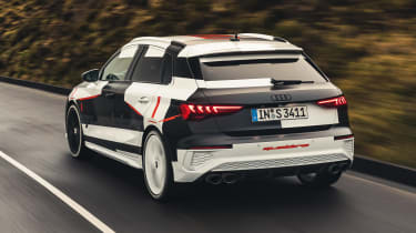 Audi S3 prototype - rear
