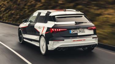 Audi S3 prototype - rear