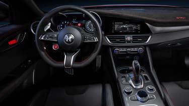 Alfa Romeo Giulia GTAm - dash