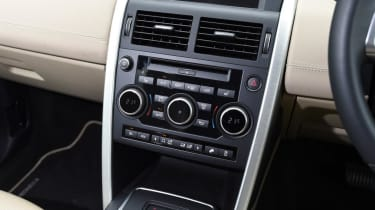 Used Land Rover Discovery Sport - centre console