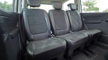 Used Volkswagen Sharan - back seats