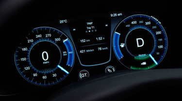 Aston Martin Rapide E - instruments