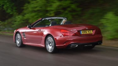 Used Mercedes SL - rear