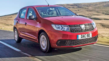 Best first cars for new drivers - Dacia Sandero
