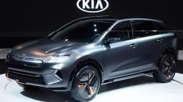 Kia Niro EV - CES front