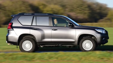 Toyota Land Cruiser Utility Commercial - side tracking