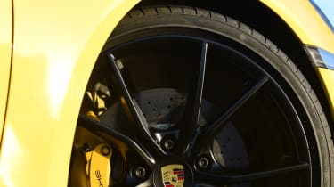 New Porsche Cayman GTS review - alloy wheel black