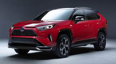 Toyota RAV4 Prime - front studio