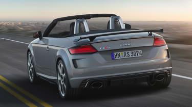 Audi TT RS Roadster - rear action