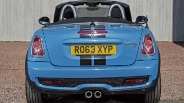 Used MINI Roadster - full rear