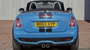 Used MINI Roadster - full rear