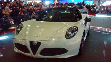 Alfa Romeo 4C Spider in Geneva 1