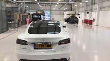 Tesla Model S repair - rear