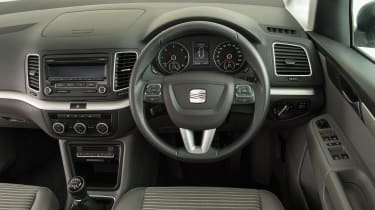 Used SEAT Alhambra - dash