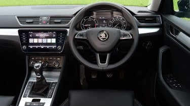 Skoda Superb - interior