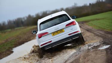 Audi Q5 40 TDI - rear off road
