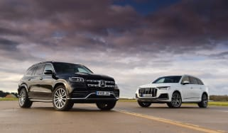 Mercedes GLS vs Audi Q7 - head-to-head