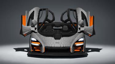 Lego McLaren Senna - front door open