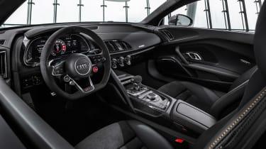Audi R8 V10 Decennium - dash