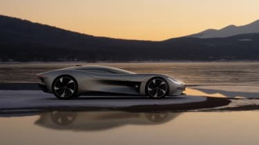 Jaguar Vision GT concept - side