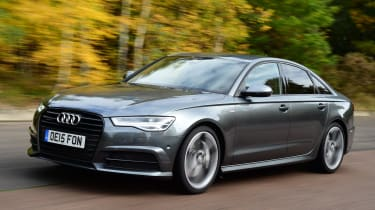 Audi A6 front tracking
