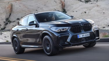 BMW X6 M Competition - front