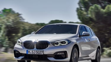 New BMW 1 Series 2019 tracking