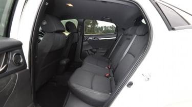 Honda Civic long-term review - Civic back seats
