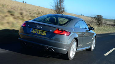 Audi TT Ultra - rear tracking