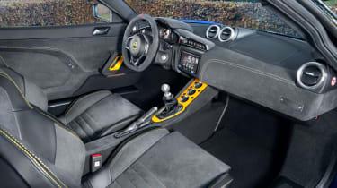 Lotus Evora GT410 Sport - interior