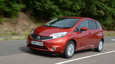 Used Nissan Note Mk2 - front action