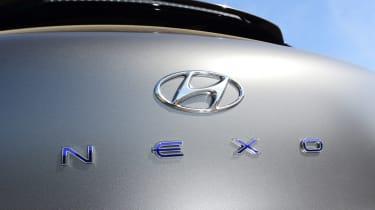 Hyundai Nexo - rear badge