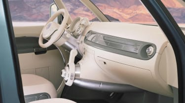 VW Microbus - interior