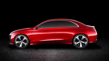 Mercedes Concept A Sedan - side