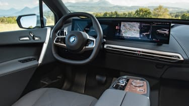 BMW iX - cabin
