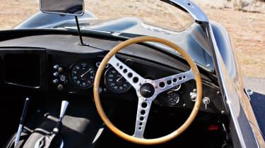 1957 Jaguar XKSS - dash