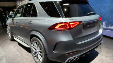 mercedes-amg gle 53 static rear quater