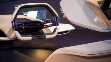 BMW HoloActive touch concept - steering wheel