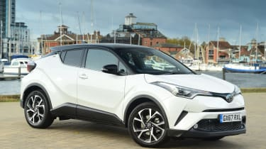 Used Toyota C-HR - front