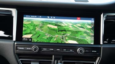 Porsche Macan - navigation