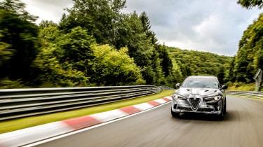 Alfa Romeo Stelvio Nurburgring 1