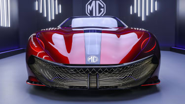 MG Cyberster concept - front