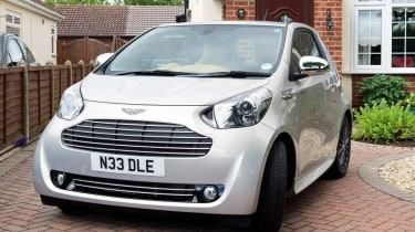 Searching for the Aston Martin Cygnet - front quarter 2