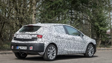 """<p class=""""p1"""">The Astra prototypes we drove featured the 1.4 turbo petrol engine and the 'Whisper' diesel.</p>"""