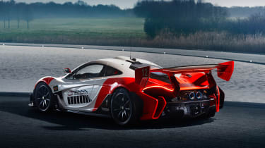 McLaren P1 GTR produced by MSO - rear