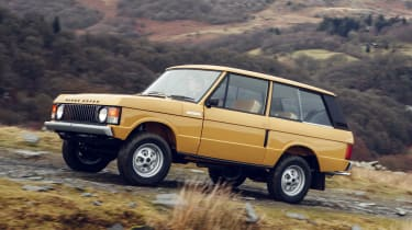 Range Rover Reborn - front action